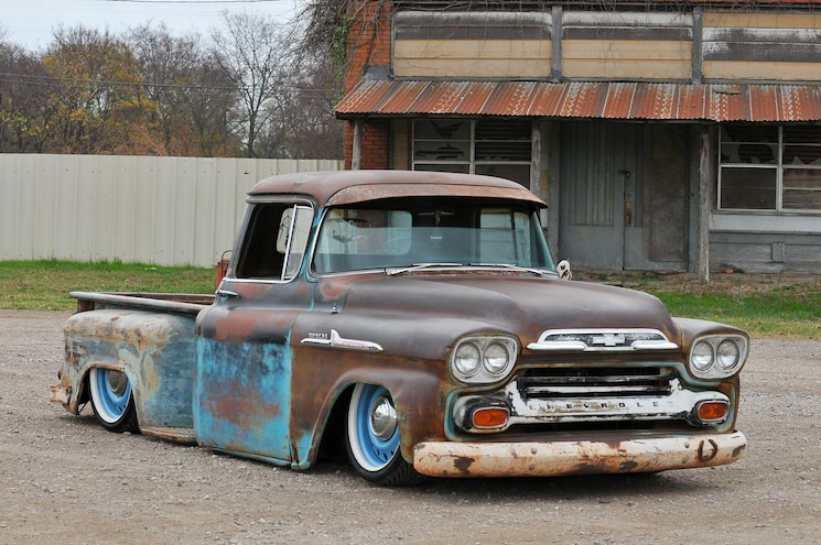 A House Divided 1958 Chevy Apache Front