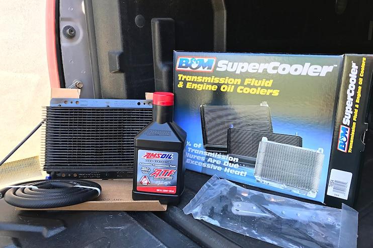 B&M SuperCooler Transmission Cooler Install