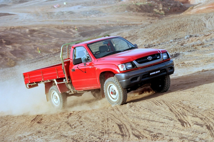 Truck Trend Legends 2002 Hilux Action