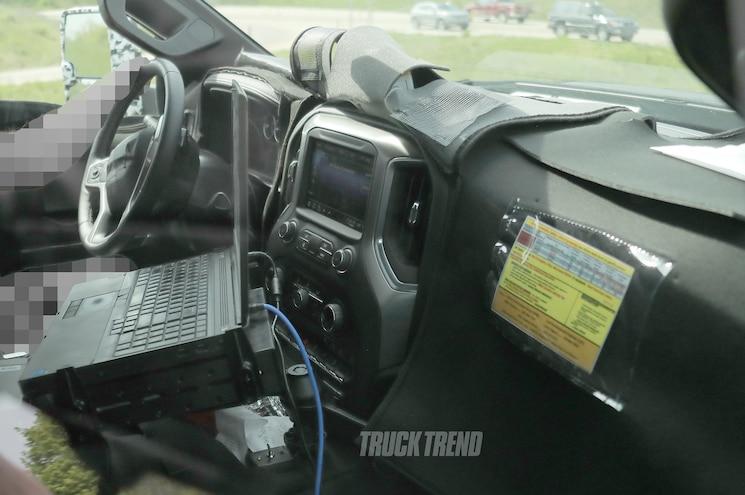 Spied 2020 Chevrolet Silverado 3500hd Towing And Interior Photos