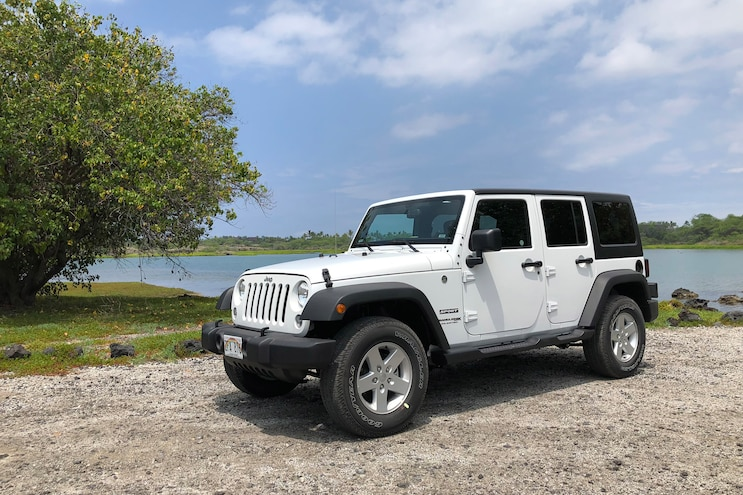 First Drive: The 2018 Jeep Wrangler JK