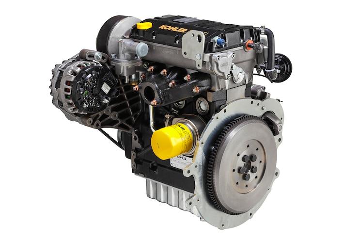 001 Kohler KDW1003  3 Cylinder Diesel Engine Polaris Ranger