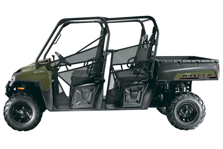 003 Polaris Ranger Crew Diesel Side By Side UTV