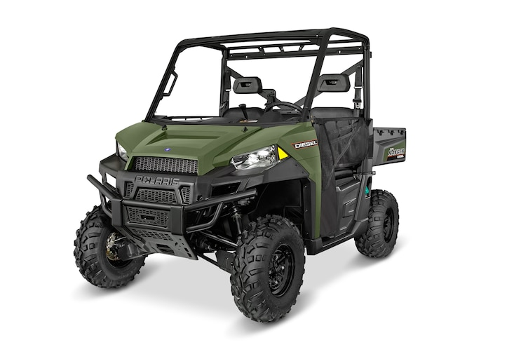 002 Polaris Ranger Diesel Side By Side UTV