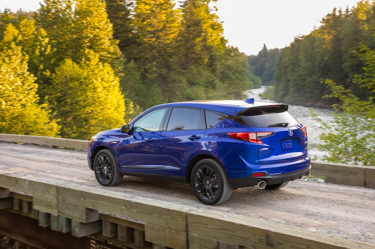 2019 Acura Rdx A Spec In Motion Exterior Rear Quarter 01