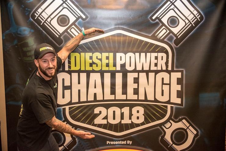Diesel Power Challenge 2018 Check In Banner