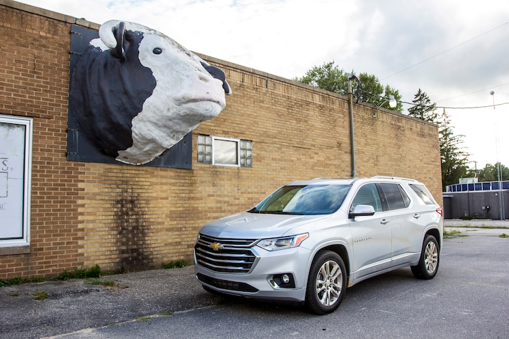 2018 Chevrolet Traverse First Drive