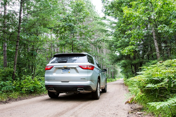 2018 Chevrolet Traverse First Drive Rear