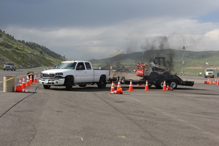Diesel Power Challenge 2018 Cone Course GMC