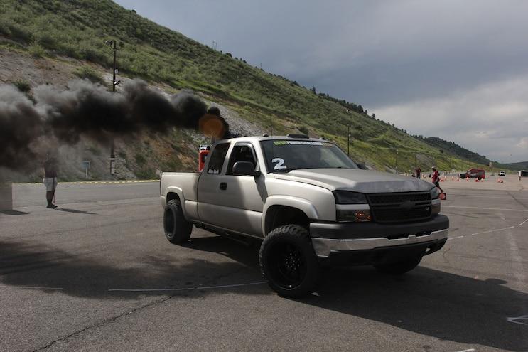 199 Diesel Power Challenge 2018 Cone Course