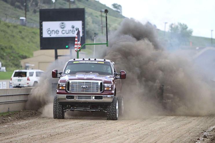 2018 Diesel Power Challenge Sled Pull