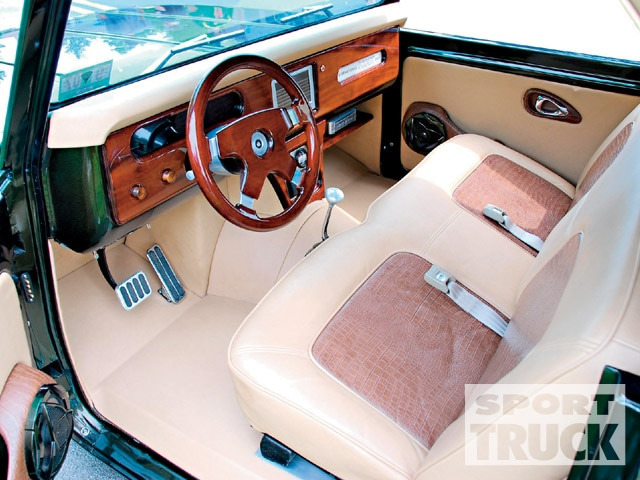1963 International Scout interior