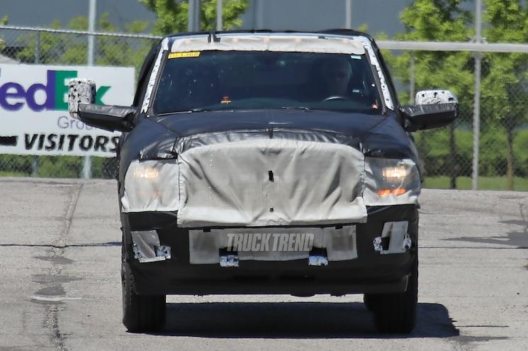 2020 Ram 2500 Regular Cab Front View