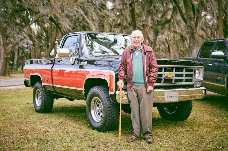 Chevrolet Meets Up with 101-Year-Old Veteran Chief Truck Engineer in Savannah