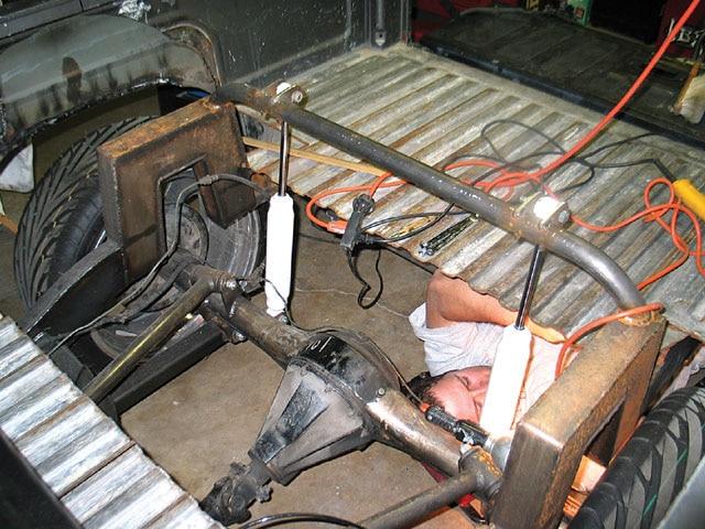 1991 Nissan Hardbody - Four-Link Rear Suspension Install