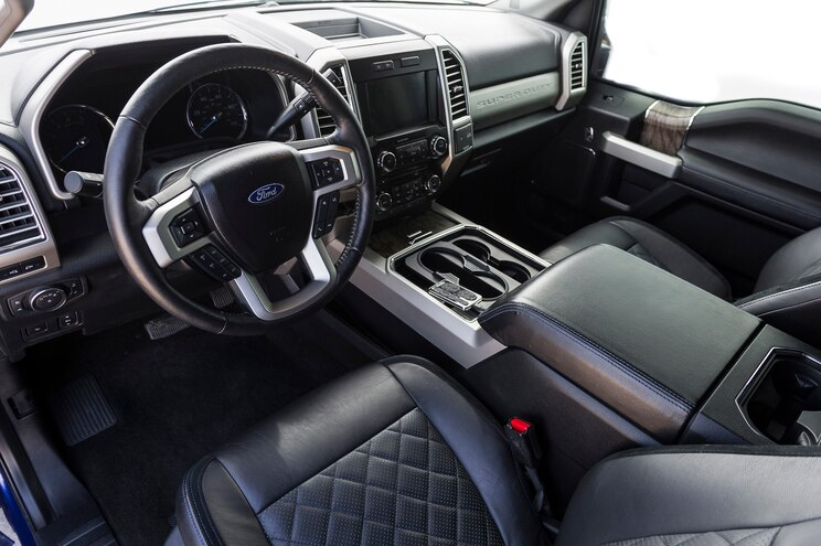 2017 Ford F350 The Immortal Phat 350 Interior
