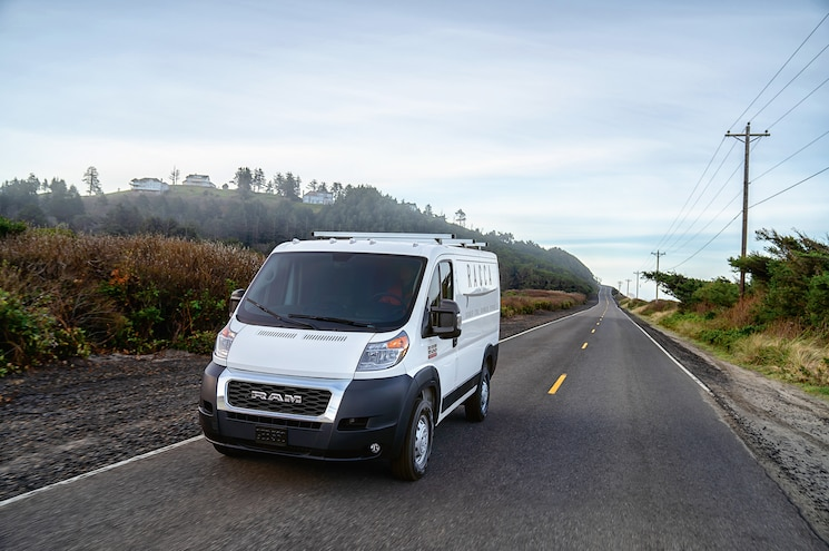 Ram Adds Models, Capability to 2019 ProMaster Lineup