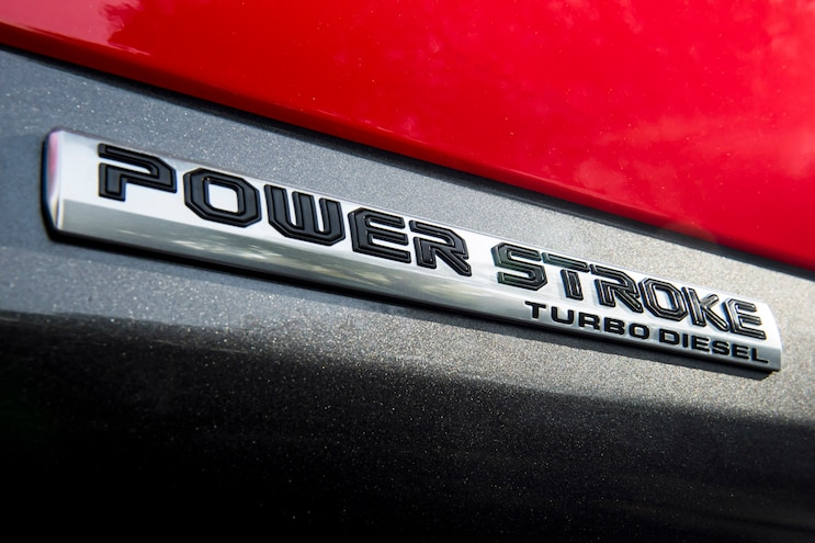 F 150 Diesel Emblem