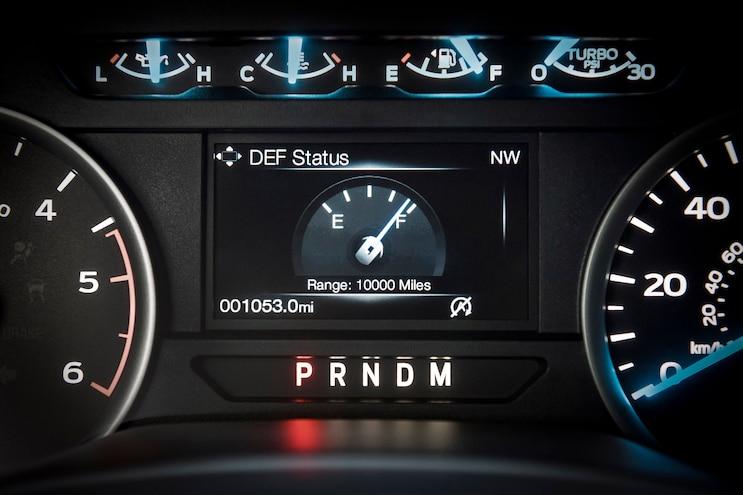 F 150 Diesel Instrumentation