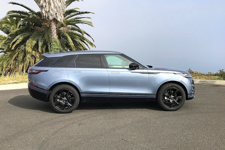 Daily Driven 2018 Range Rover Velar D180 Side View