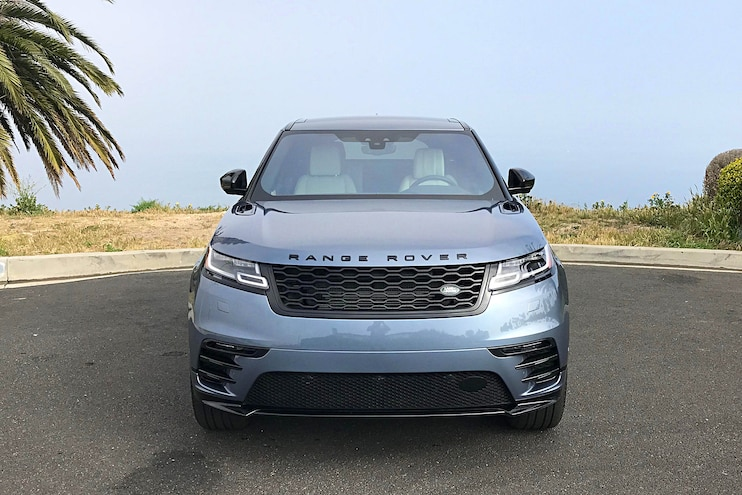 Daily Driven 2018 Range Rover Velar D180 Front View