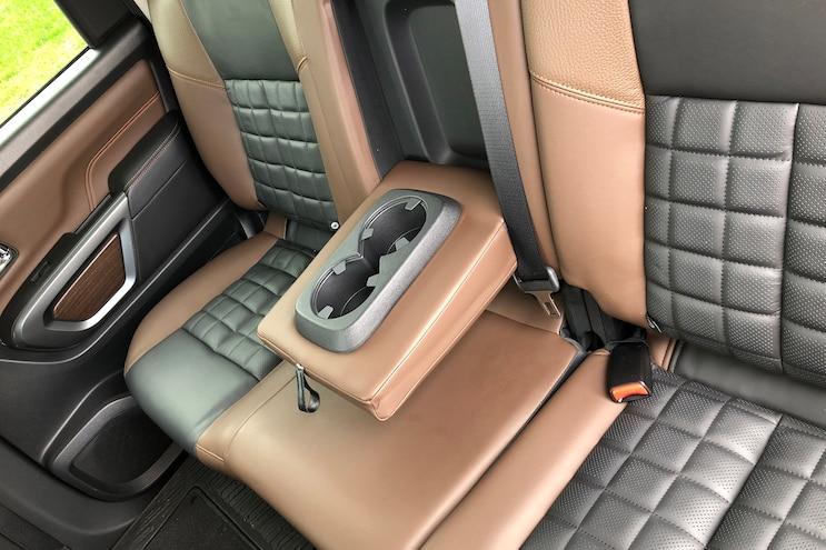 Long Term Report 3 2017 Titan Platinum Backseat Armrest