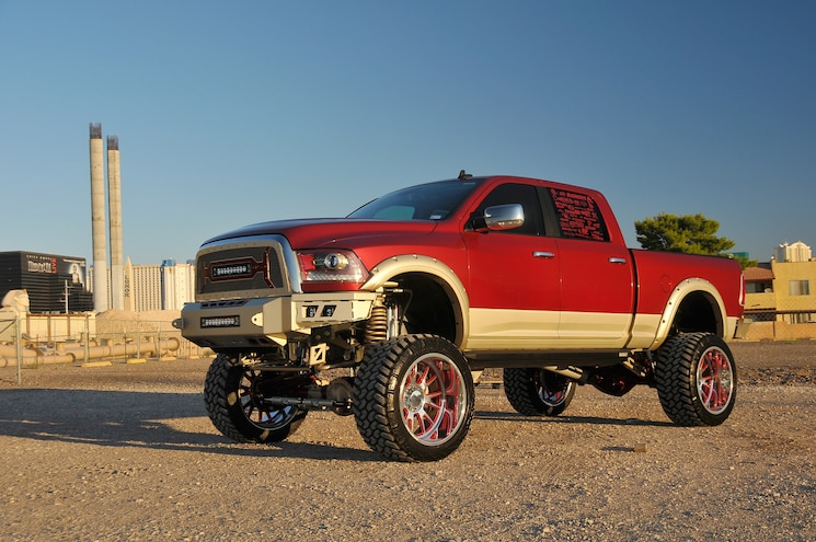 2015 Ram 2500- Red For Rogue