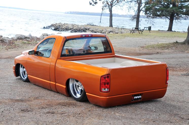 2002 Dodge Ram 1500 Diamond Dreams Rear