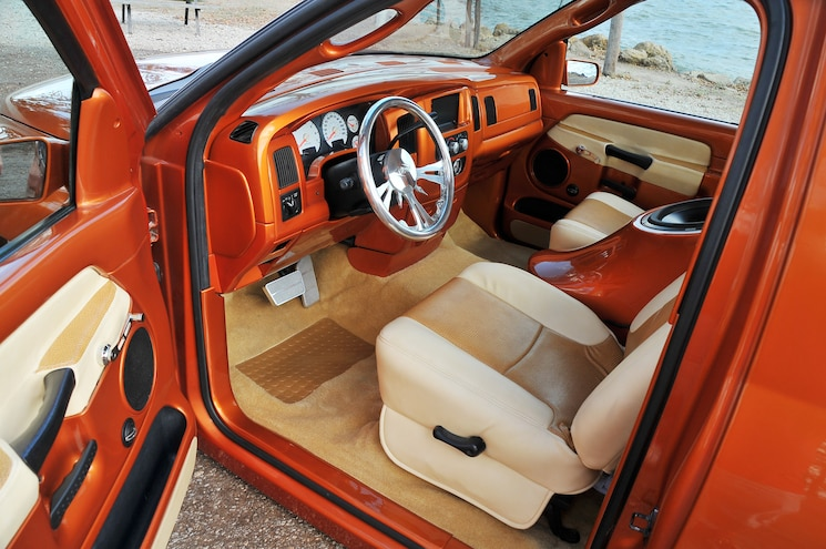2002 Dodge Ram 1500 Diamond Dreams Interior