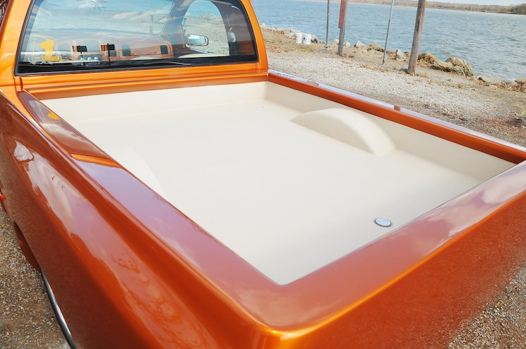 2002 Dodge Ram 1500 Diamond Dreams Bed
