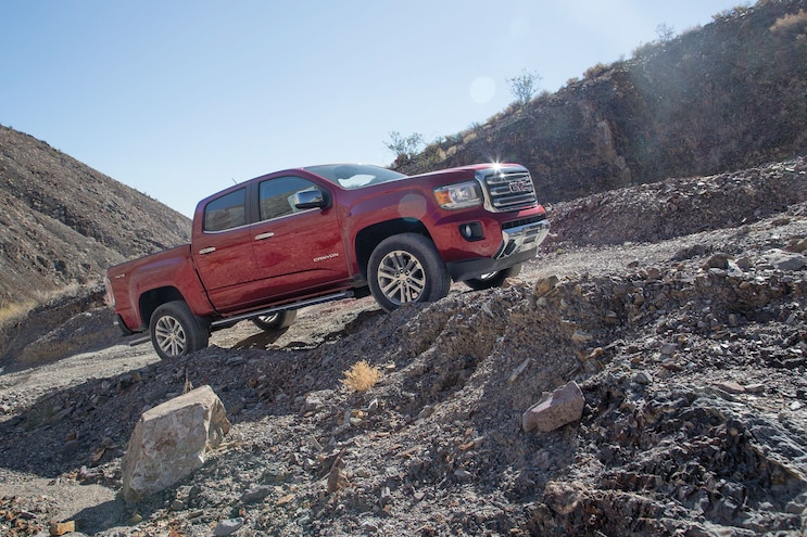 30 2016 Gmc Canyon On Trail
