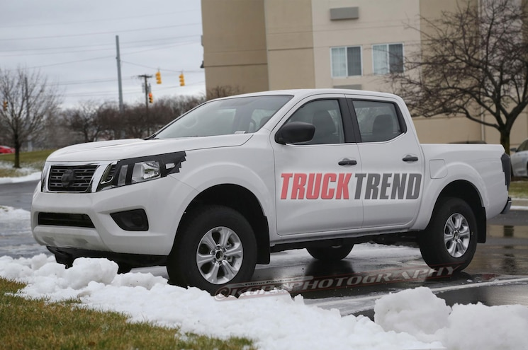New Nissan NP300 Navara Caught Testing in U.S. – Next Frontier?