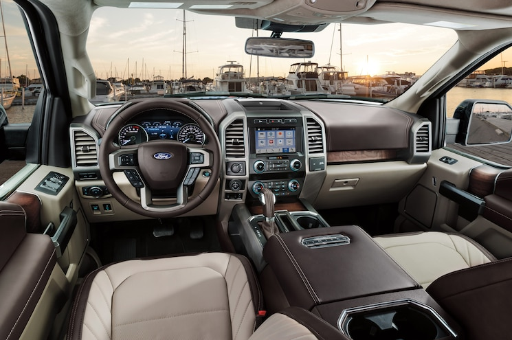 2019 Ford F 150 Limited Interior Dashboard