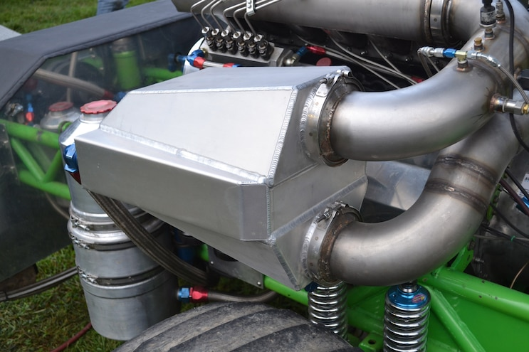 008 Competition Diesel Engines Water To Air Intercooler