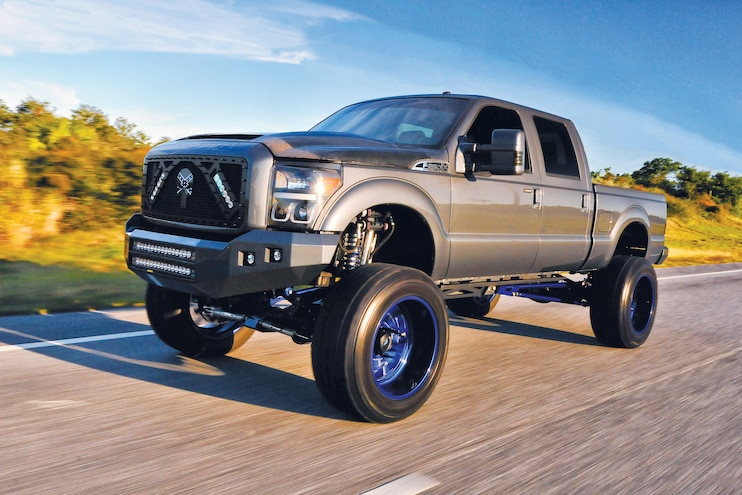 Transforming a 2012 F-250 into a High Performance, Luxury Cruiser