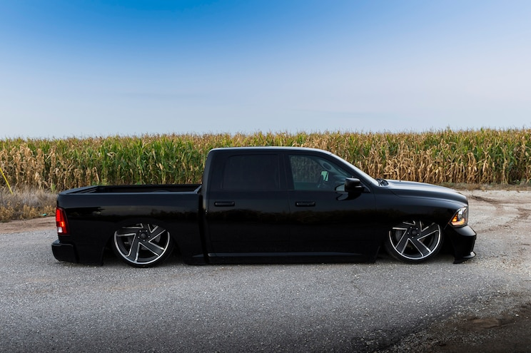 2014 Ram 1500 Black Knight Side View