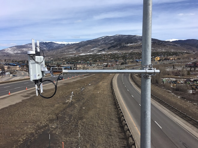 CDOT Panasonic I 70 V2X Road Side Unit