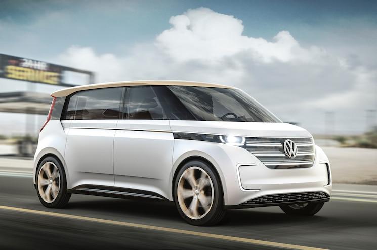 Volkswagen Reveals BUDD-e Electric Car at CES Las Vegas