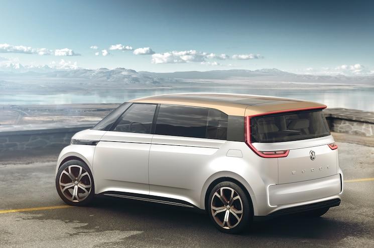 Volkswagen BUDD E Concept Rear Three Quarters 02