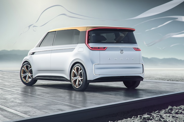 Volkswagen BUDD E Concept Rear Three Quarters
