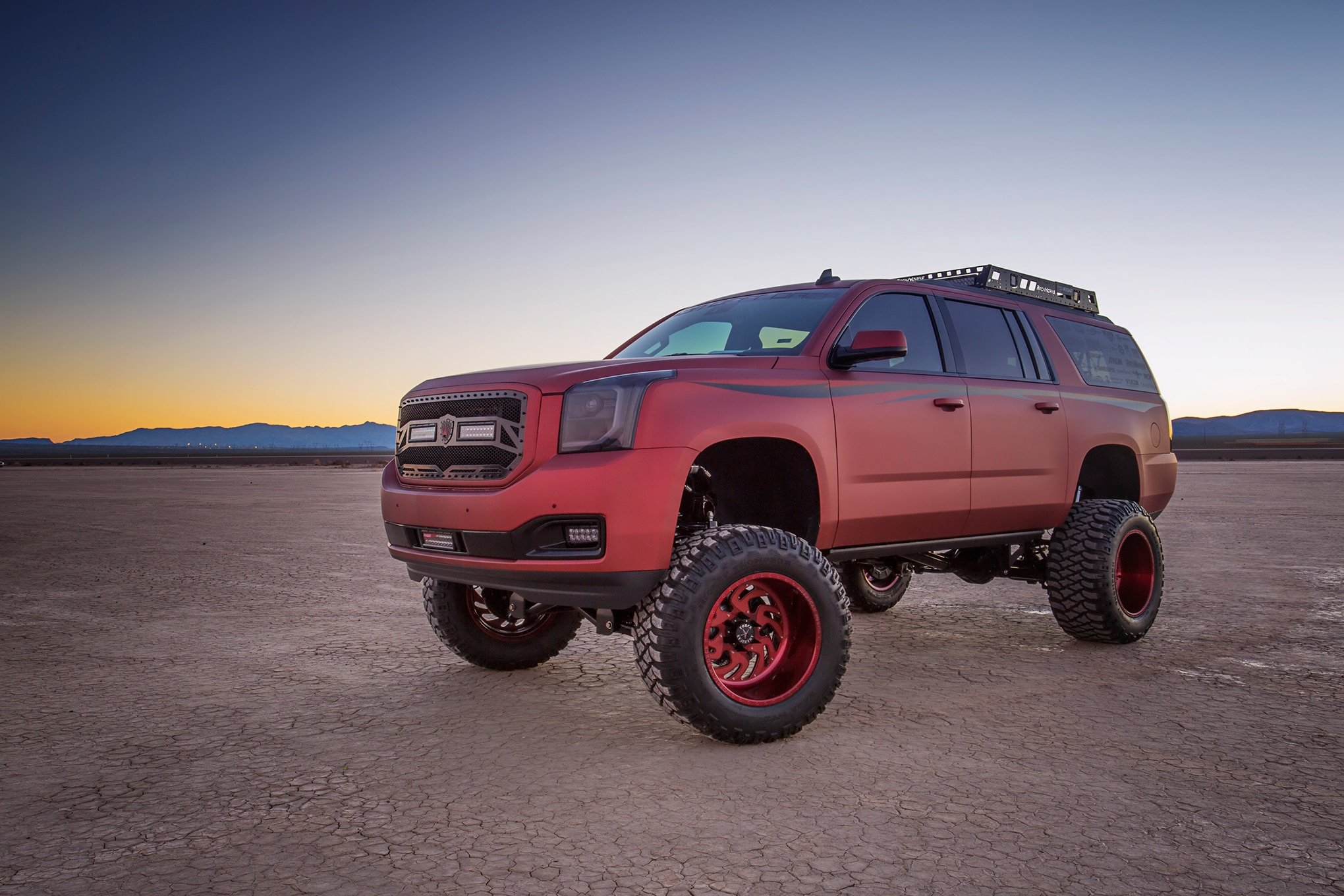 2015 Gmc Yukon Xl Little Red Wagon