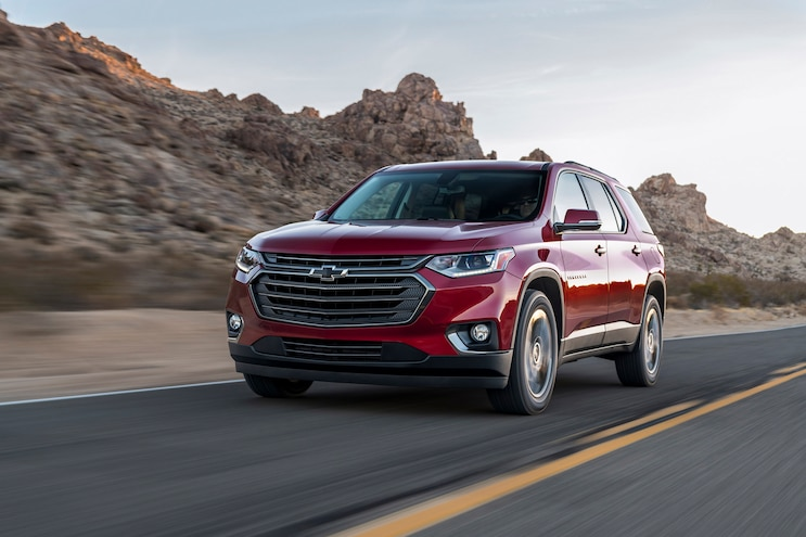 First Drive: 2018 Chevrolet Traverse RS