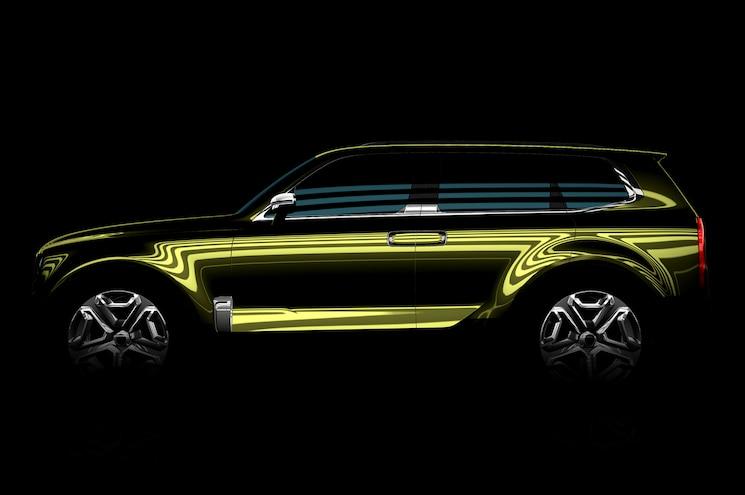 Kia Teases Fullsize SUV Concept Before Detroit Auto Show