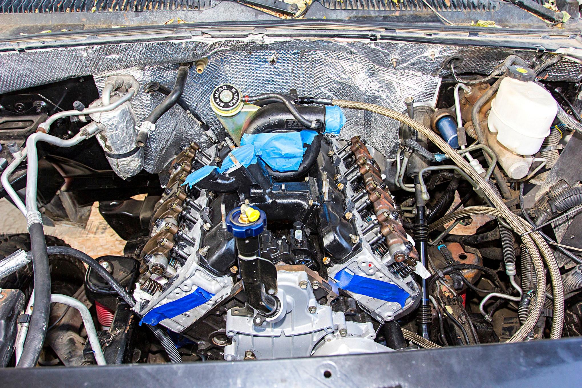 lb7 duramax engine rebuild