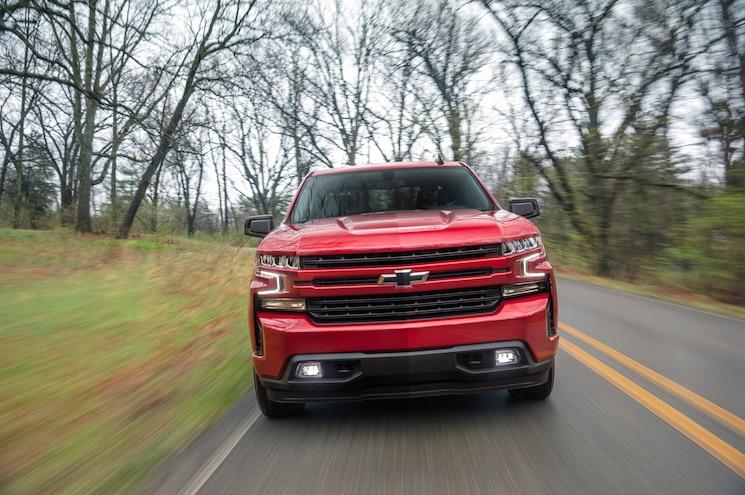 2019 Chevrolet Silverado Rst Front View