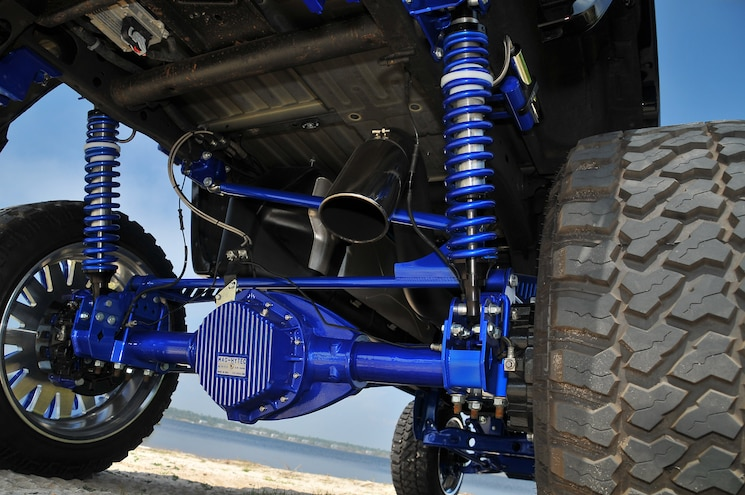 2015 GMC Sierra 2500HD Denali Prodigy Rear Suspension