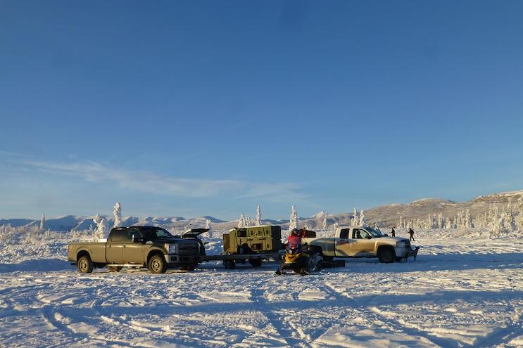 003 Iditarod Work Trucks