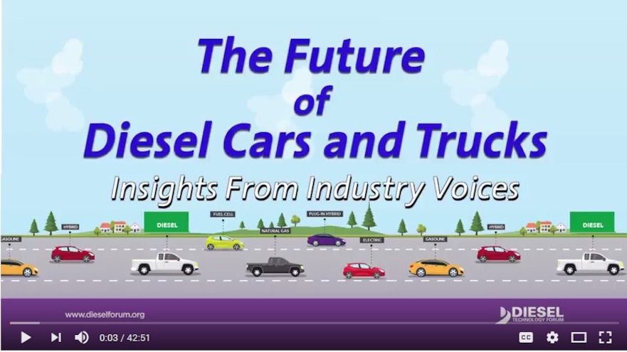 Video: The Future of Diesel Cars and Trucks - Insights from Industry Voices