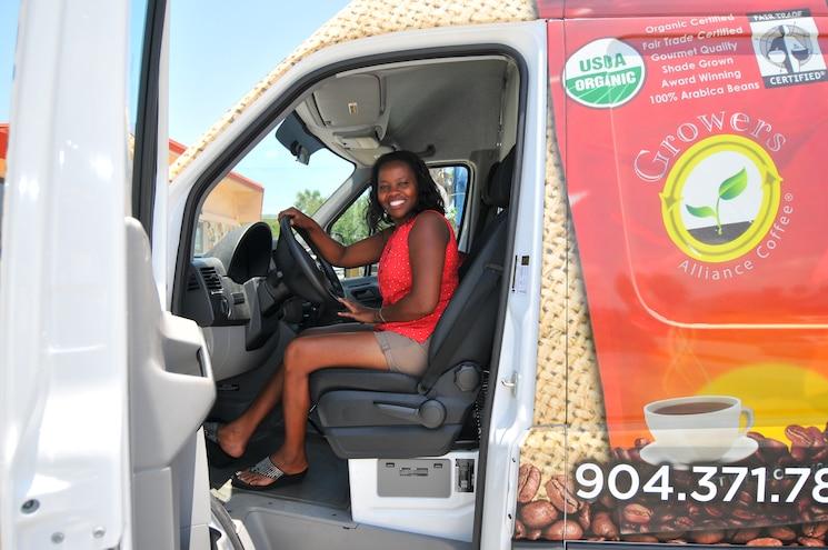 2014 Mercedes Sprinter Van Growers Alliance Coffee Truck 007