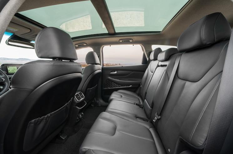 2019 Hyundai Santa Fe Interior Rear Cabin